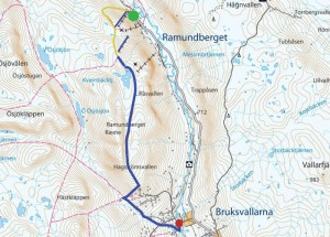 Ramundberget - Kariknallarna - Bruksvallarna